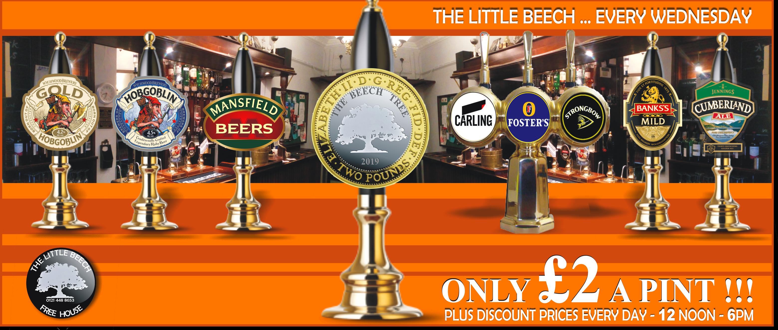 The-Little-Beech-Pub-Rowley-Regis-2 Pounds a Pint