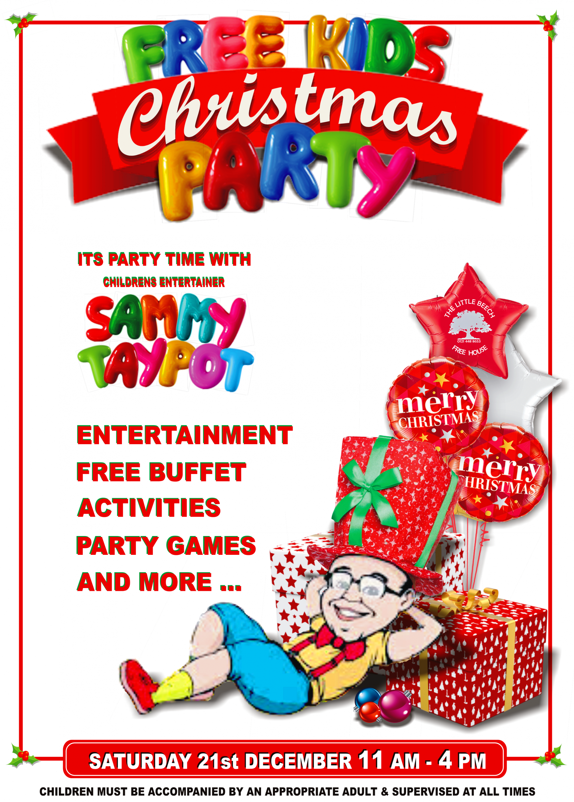 The-Little-Beech-Pub-Free-Childrens-Party-2019